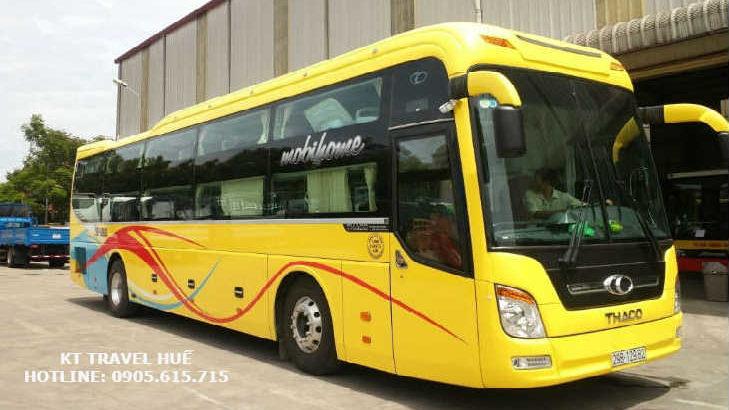 Xe đi Ninh Bình - Hà-Nội từ Lăng Cô - Thừa-Thiên-Huế