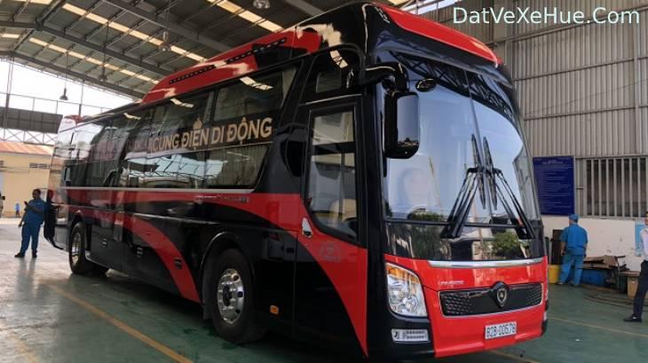 Xe đi Tân Bình - Sài Gòn từ Huế