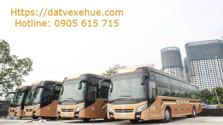Xe Hey Travel đi Hà Nội từ Huế