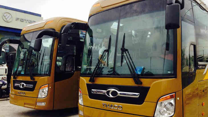 Xe đi Phú Thọ từ bến xe Huế