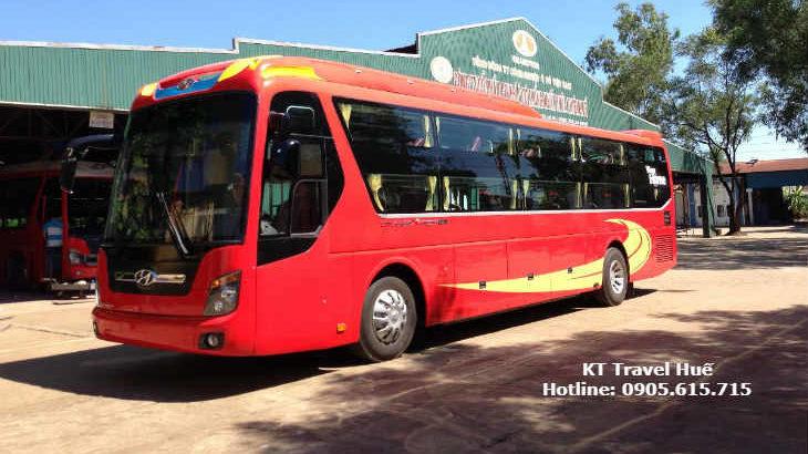 Xe đi Đồng Hới - Quảng Bình từ Thái Bình